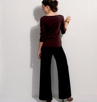 Patron de veste, short et pantalon - Vogue 9248