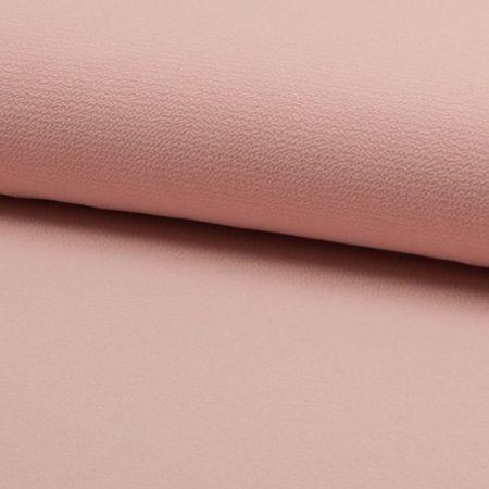 Tissu crêpe légère extensible - Saumon