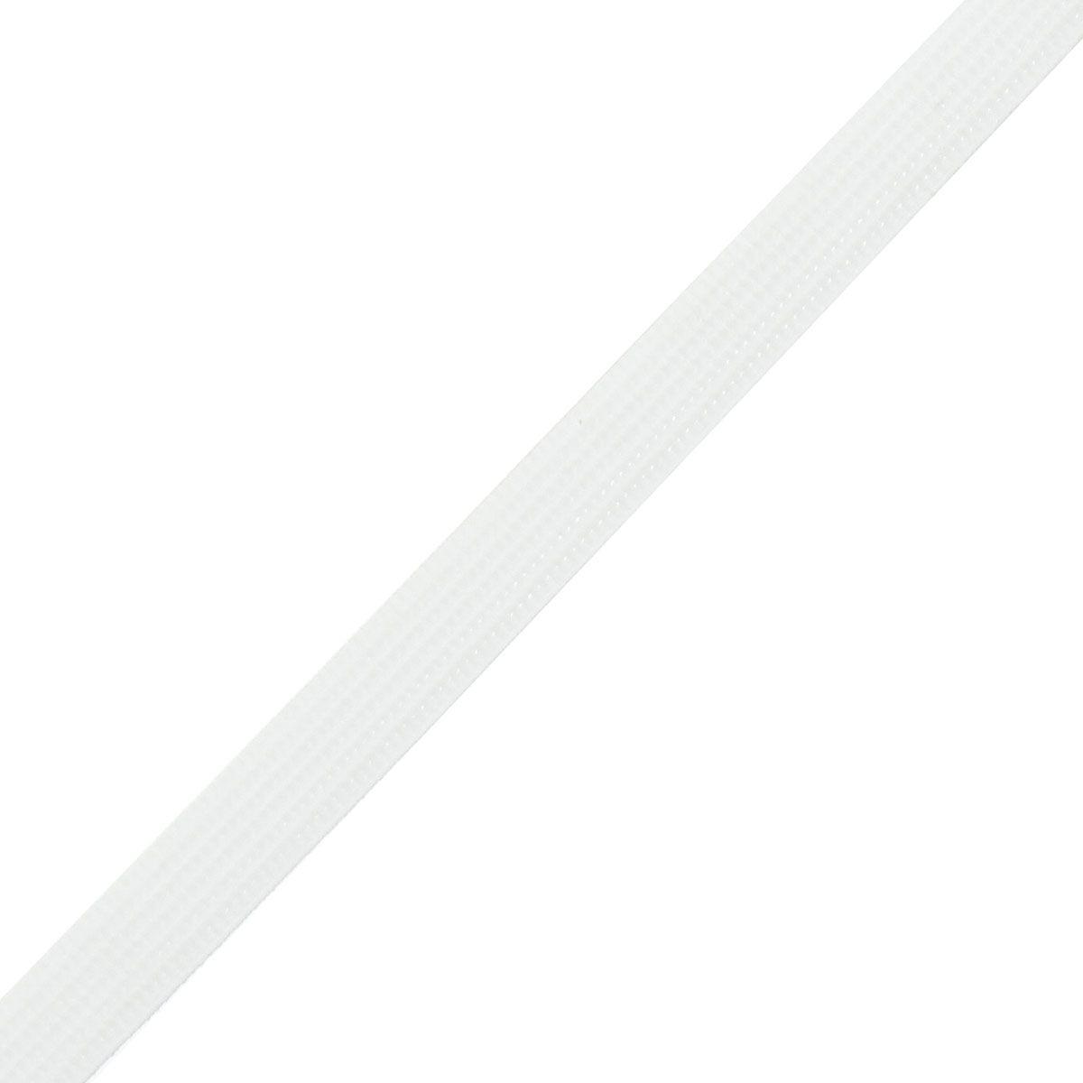 Baleine rigilène 8 mm de large au mètre - Blanc