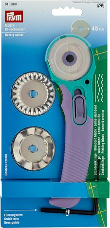 Kit cutter circulaire + 3 lames +  bras guide
