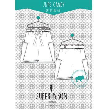 Patron de jupe Candy - Super Bison