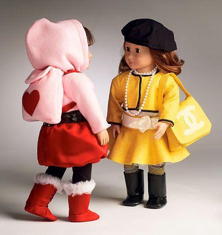 Patron de vêtements de poupée - McCall's 6669