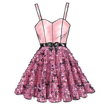 Patron de robe Annabelle - C´est moi le patron