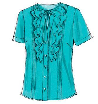 Patron de blouse Barcelona - Atelier Scämmit