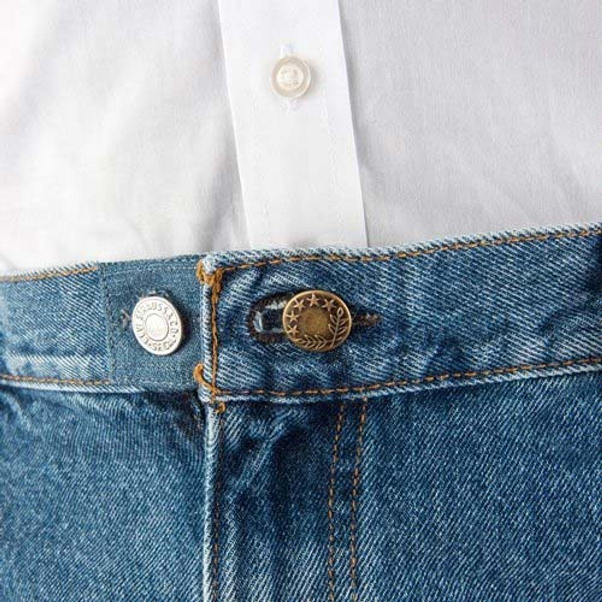 Boutons rallonge en métal Easy Fit pour jeans
