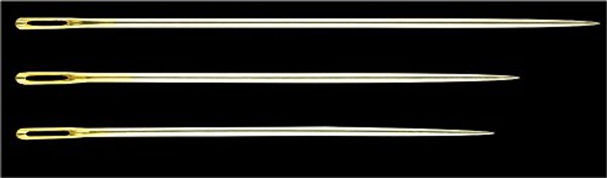 Aiguilles sashiko longues Clover
