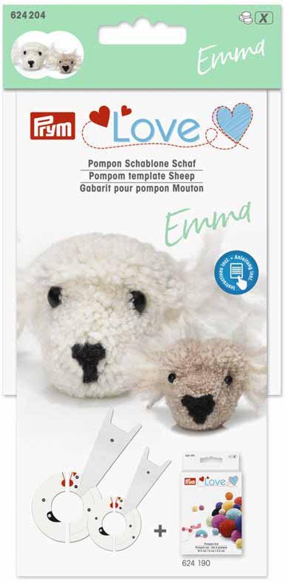 Gabarit pour pompons - Mouton Emma