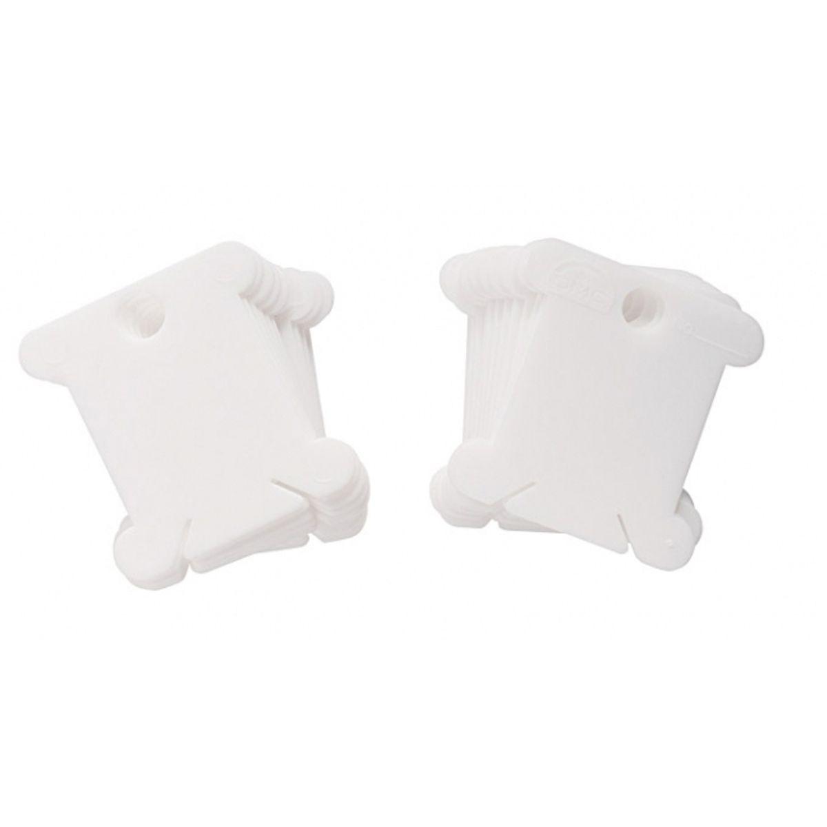 Cartes en plastique pour fils à broder DMC