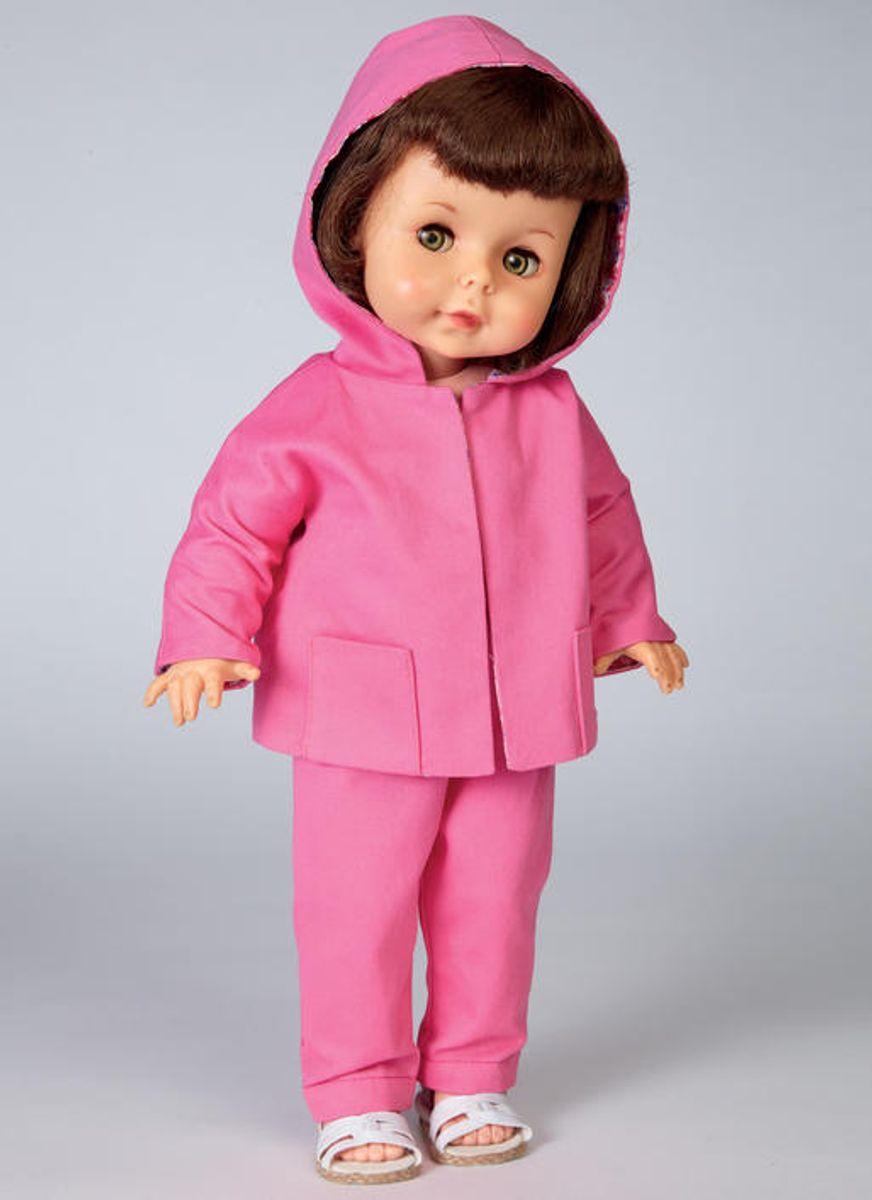 Patron de vêtement pour poupée - Butterick 6606