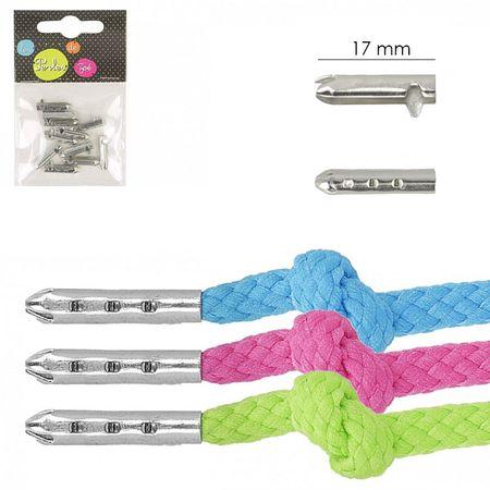 Embouts métal pour cordons et lacets