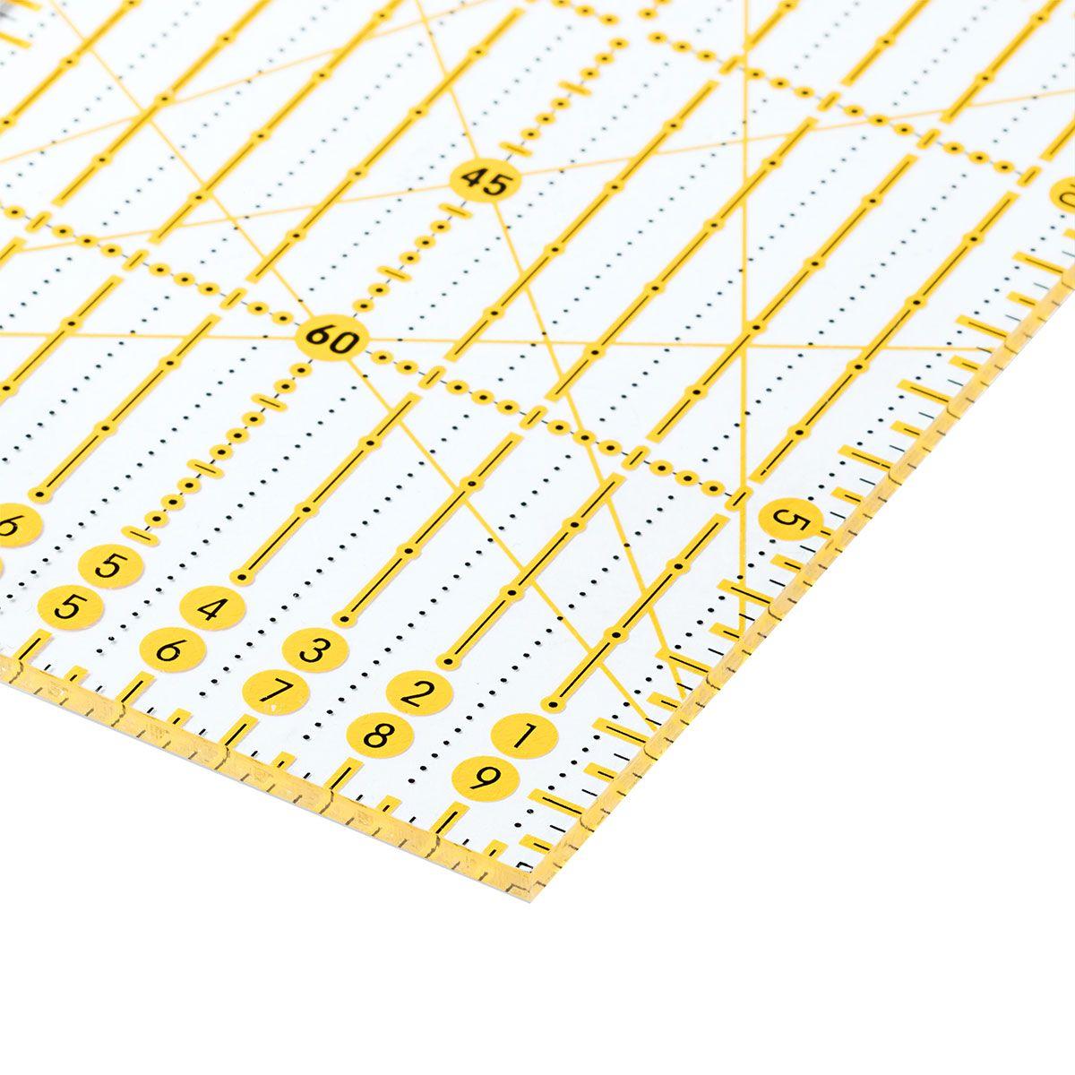 Règle patchwork Omnigrid angles 10 x 45 cm