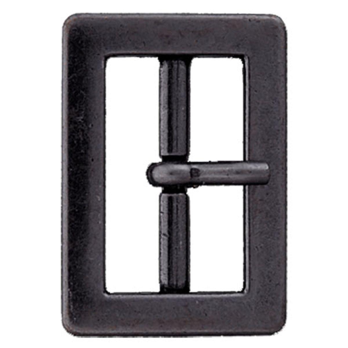Boucle de ceinture métal - Noir
