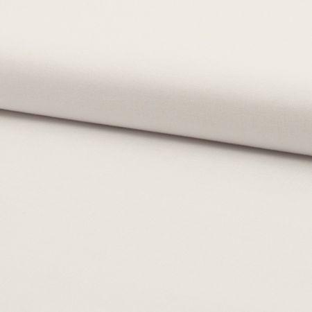 Tissu coton uni - Blanc