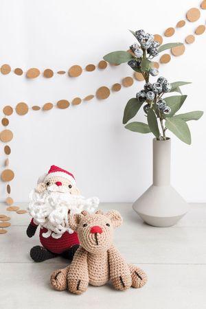 Kit crochet amigurumi - Père Noël