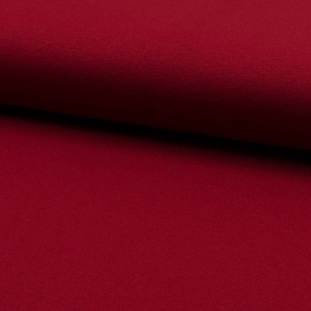 Tissu jersey viscose - Bordeaux
