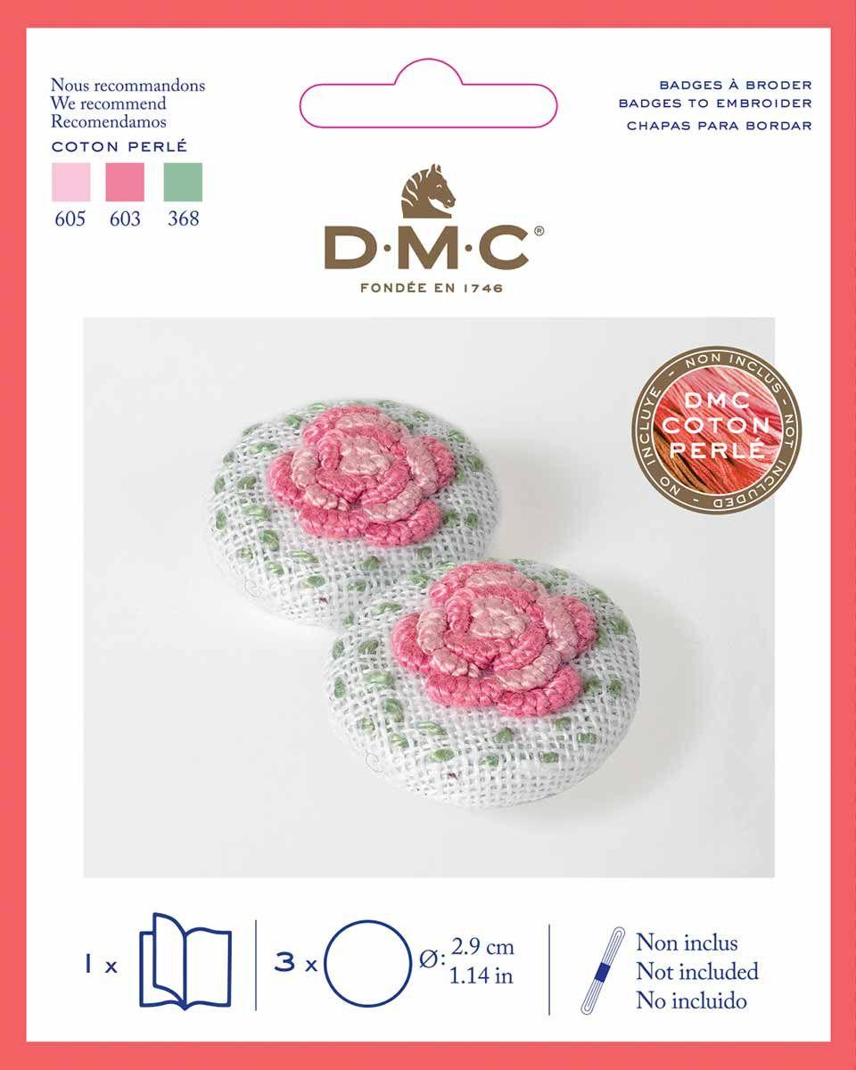 Badge à broder DMC - Petit modèle