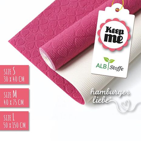 Tapis antidérapant Keep Me - Rose