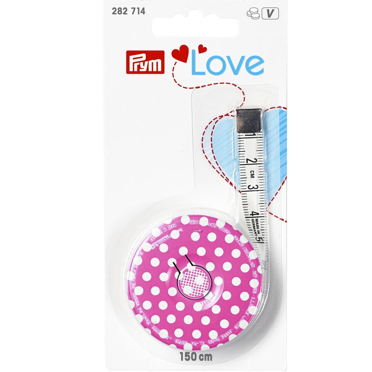 Mètre enrouleur 150 cm Prym Love