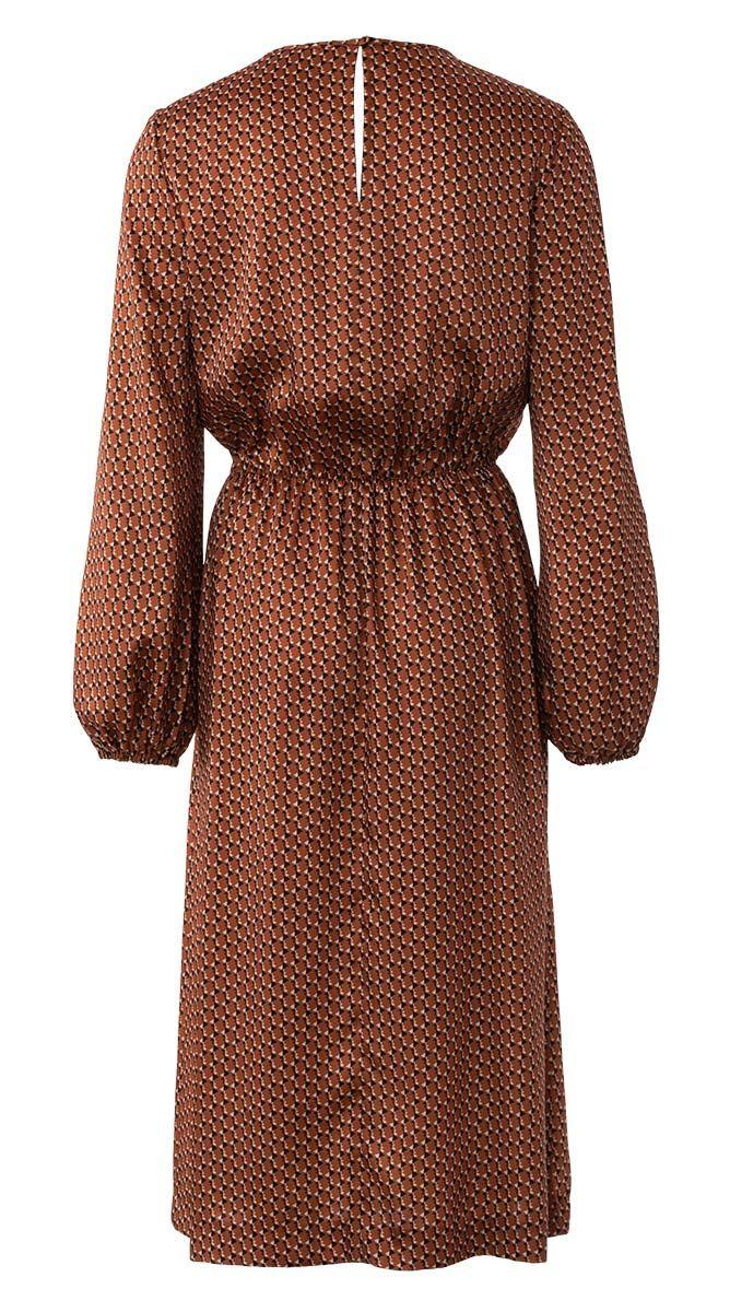 Patron de robe col drappé - Burda 6295