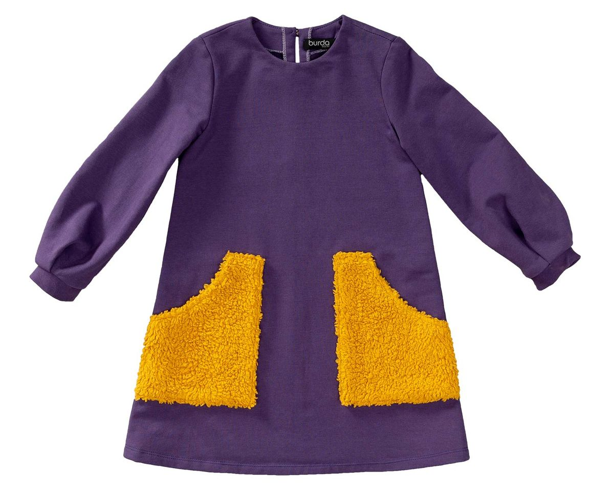 Patron de robe avec poches - Burda 9310