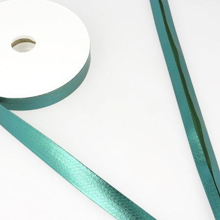 Biais lamé métallisé - Vert émeraude