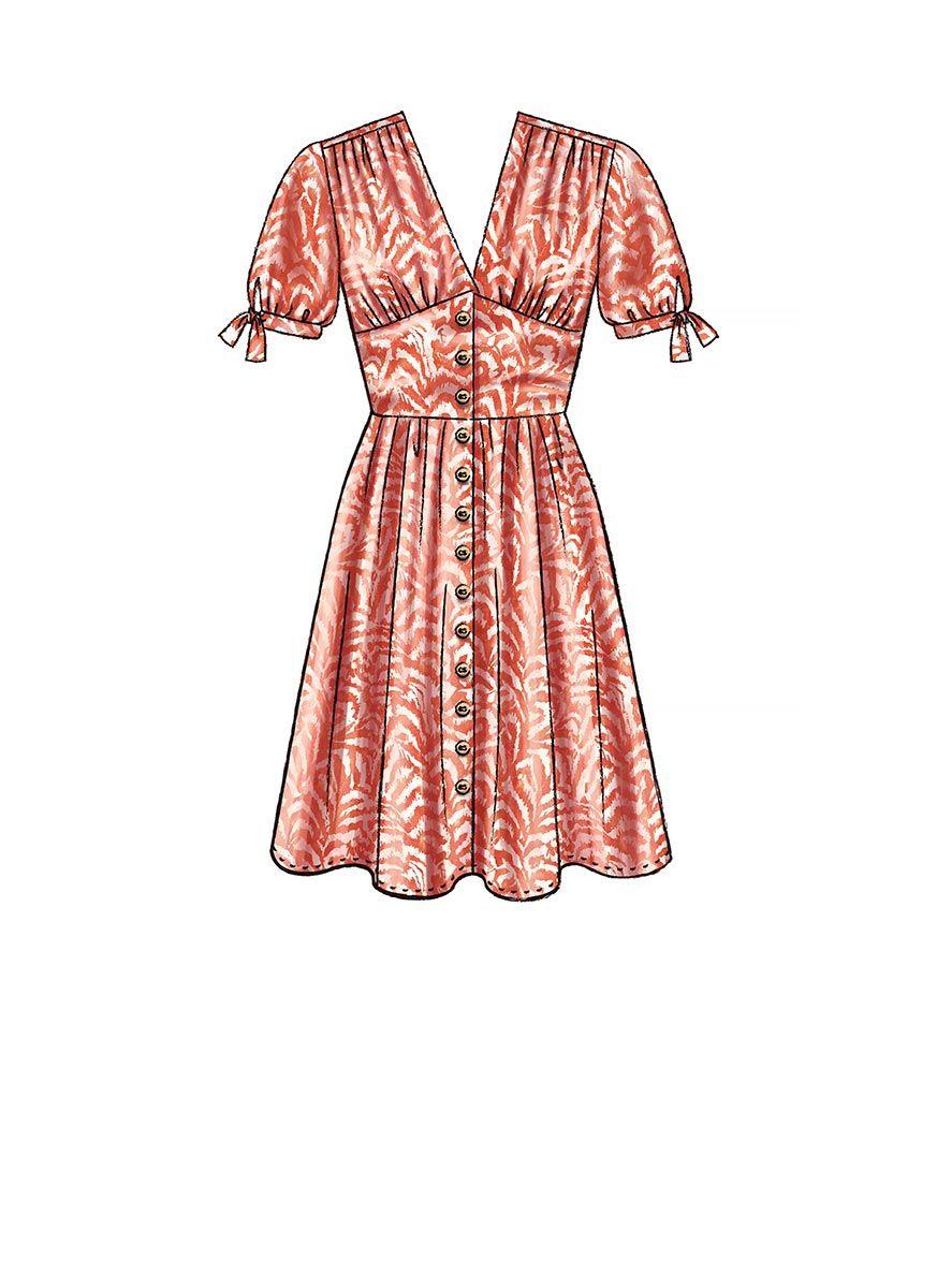 Patron de robes - McCall's 7974
